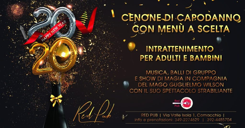 Capodanno Red Pub 2020